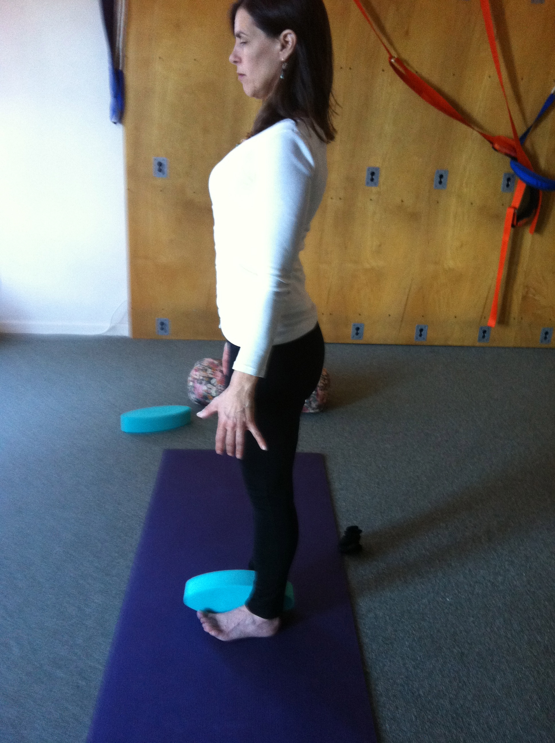 Posture Work With Yoga Eggs