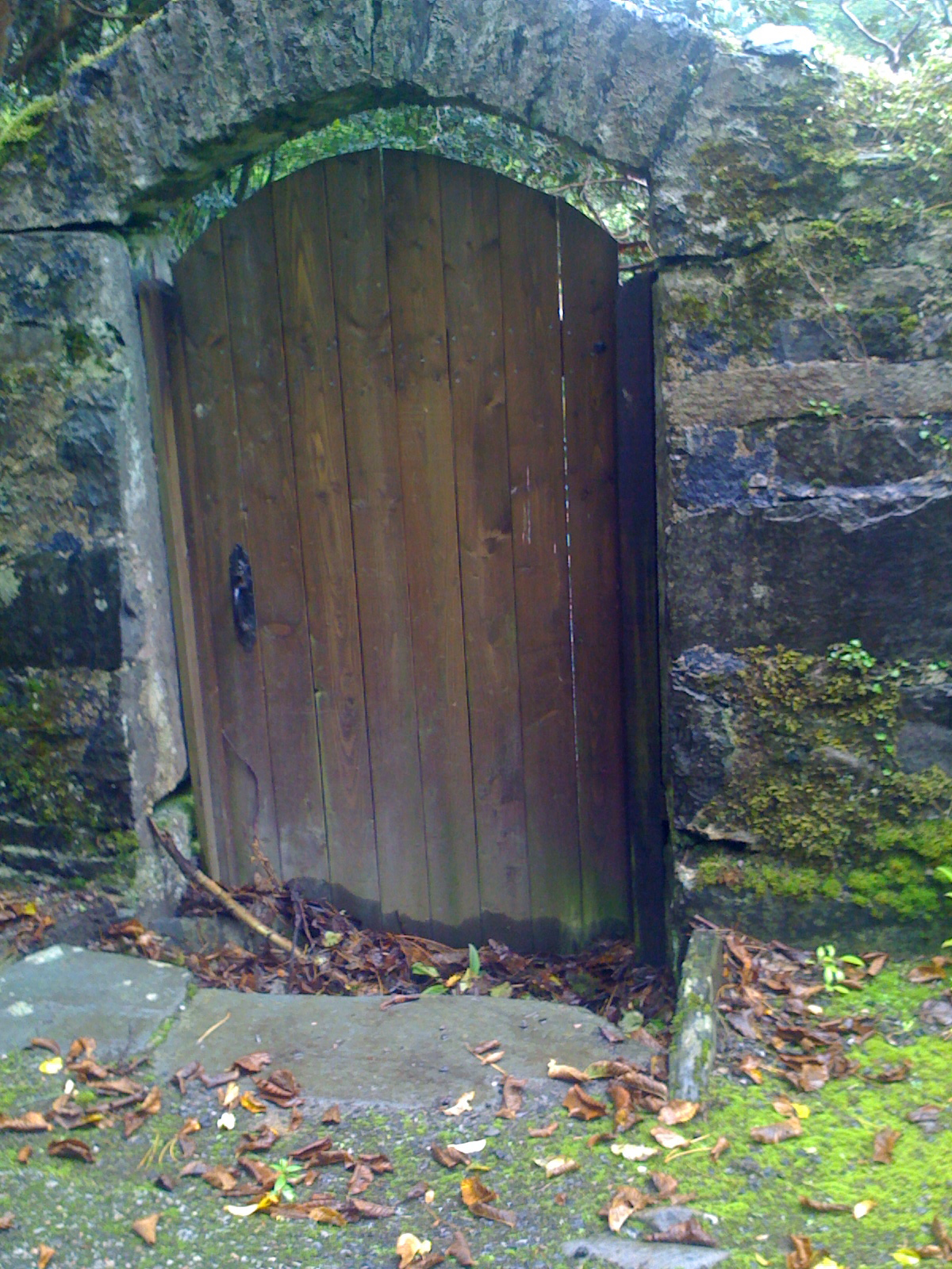 Doorway To Walled Garden, Isle Of Gigha