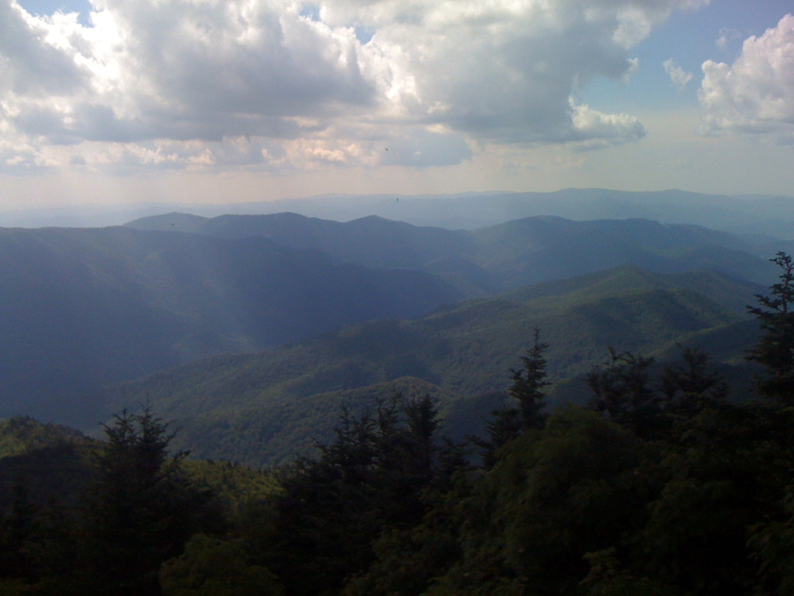View From The Blue Ridge Mountains