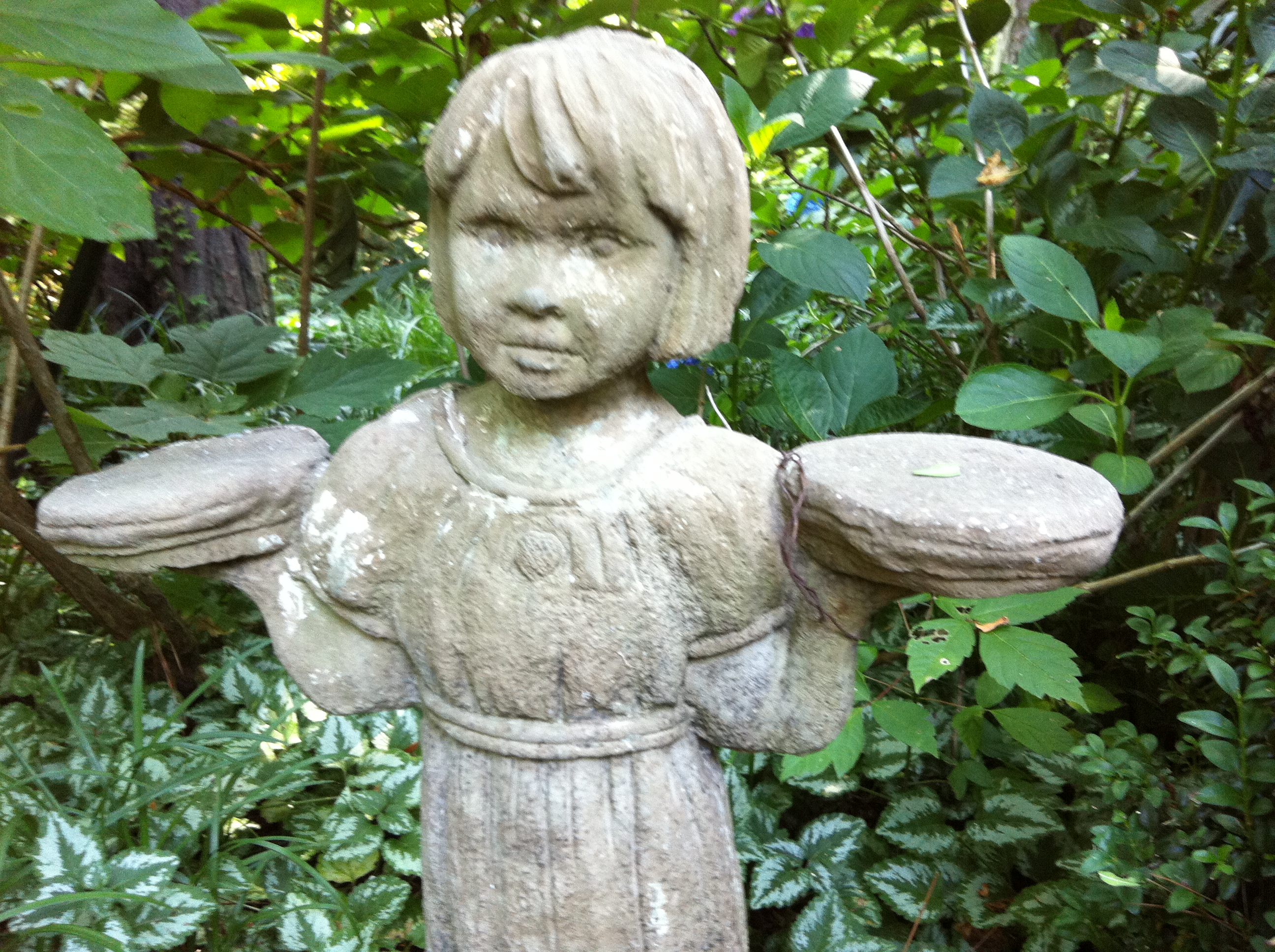 Garden Angel On My Walk