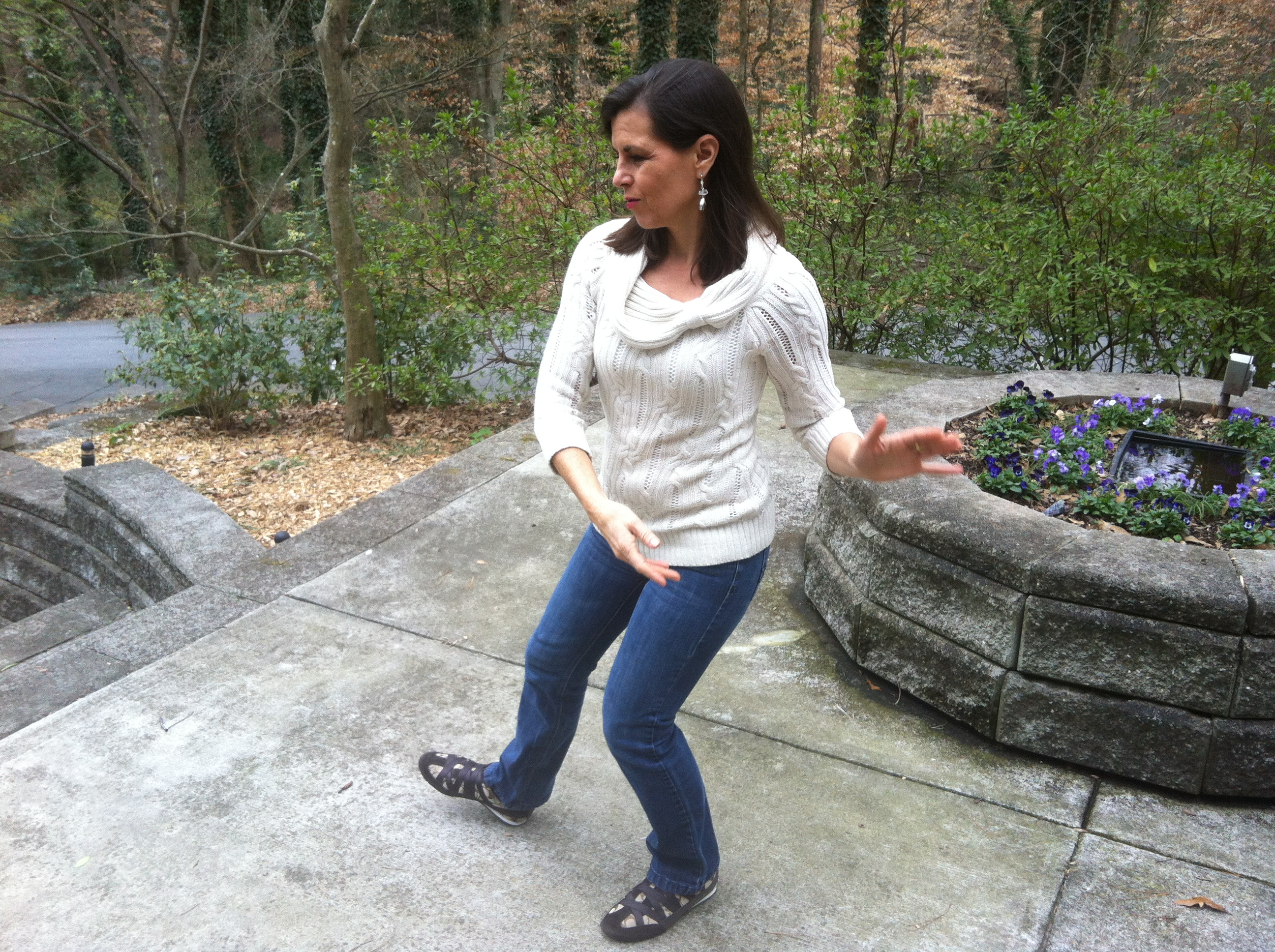 Tai Chi In My Garden