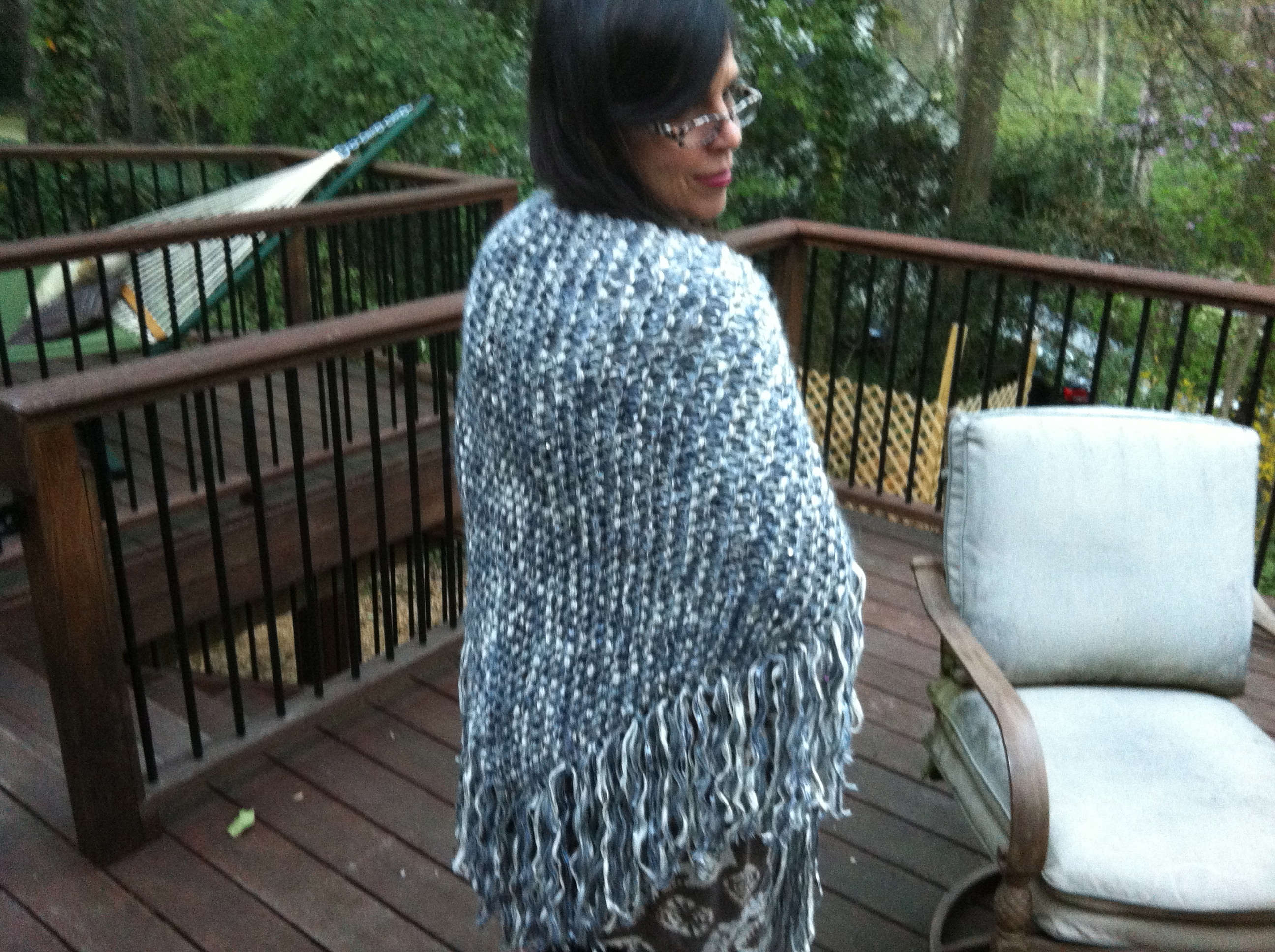 I Made This Shawl for My Friend Nina Lynn