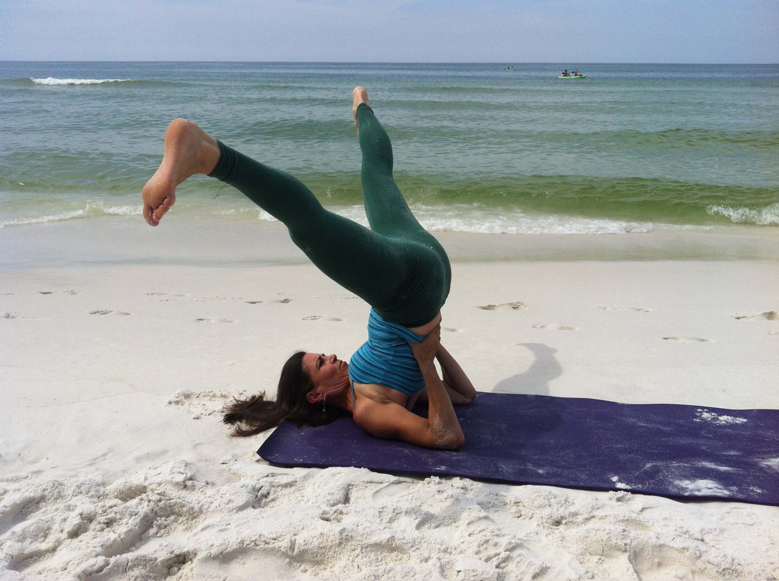 Shoulder Stand Is The Most Beneficial Yoga Pose Of All