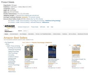 Number 1 Amazon Best Seller In TWO Categories!