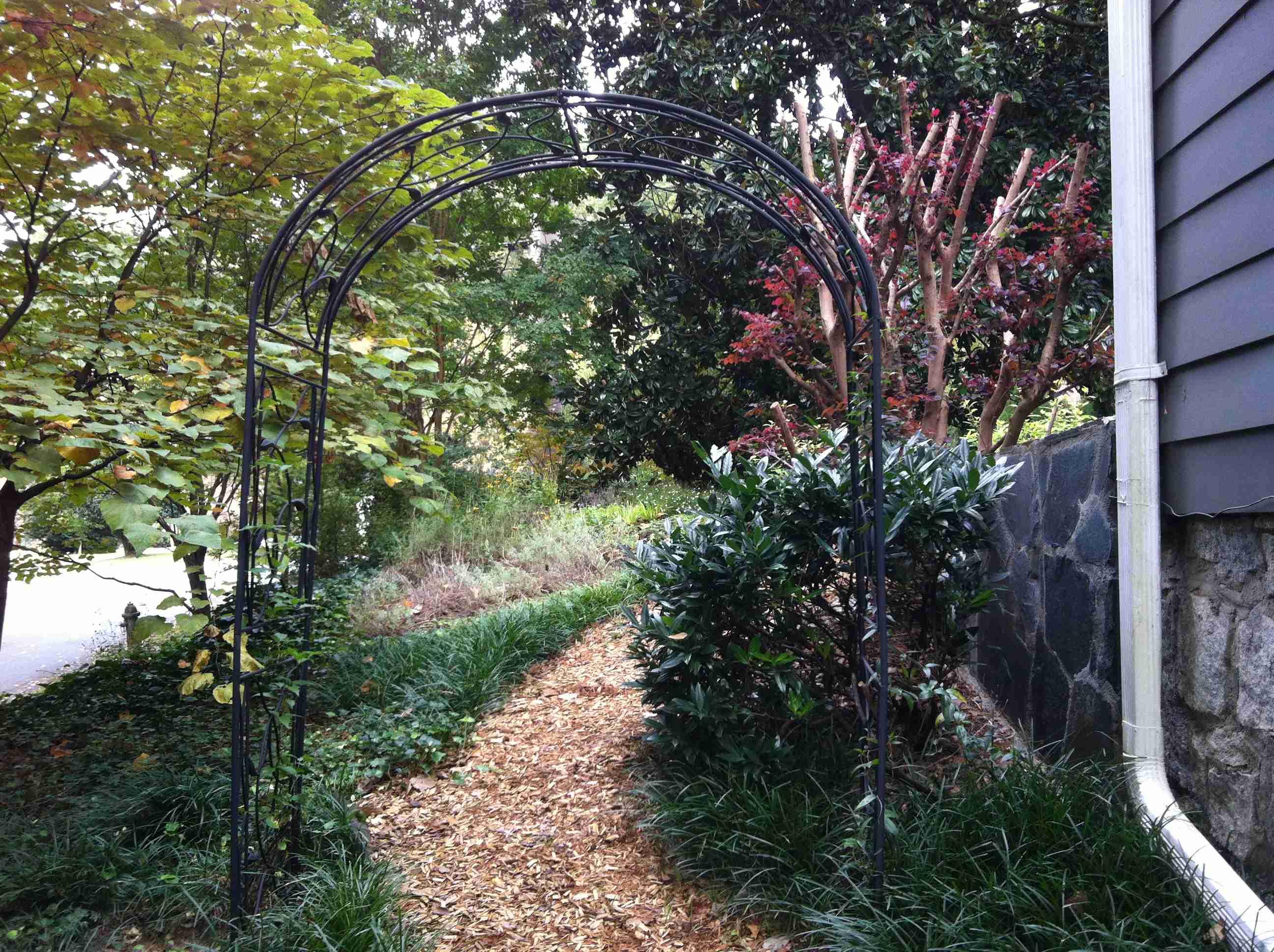 Arbor In My Garden