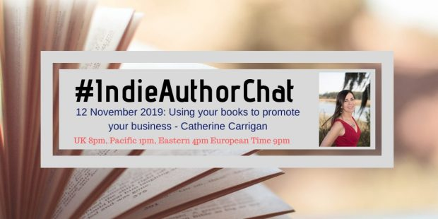 #Indieauthorchat with Tim Lewis and Catherine Carrigan