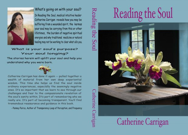 Reading the Soul by Catherine Carrigan, available in paperback and ebook