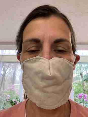 My birthday face mask